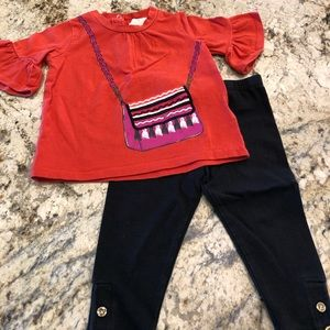 Kate Spade New York Top and Leggings Set